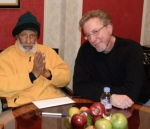 with Sonny Rollins
